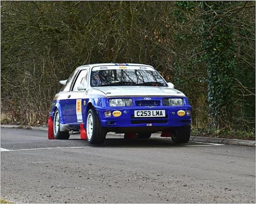 Photographic Print of CM12 0327 Neal Bloor, Ford Sierra Cosworth