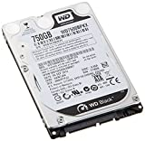 WD HDD 内蔵ハードディスク 2.5インチ 750GB WD Black WD7500BPKX/7200/SATA6.0/