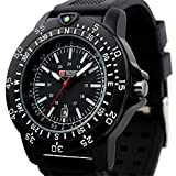 Brand Swiss Design Men's Black Dial Military Functional Bezel Army Watch MR063 thumbnail