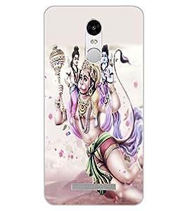 ColourCraft Lord Hanuman Design Back Case Cover for XIAOMI REDMI NOTE 3