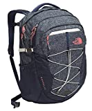The North Face Women's Borealis Backpack Cosmic Blue Heather/Calypso Coral