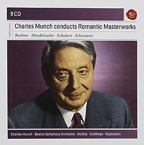 Charles Munch dirige des chefs-d'oeuvres romantiques (Coffret 8 CD)
