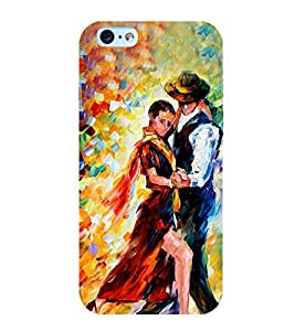 Dancing Couple 3D Hard Polycarbonate Designer Back Case Cover for Apple iPhone 6s Plus :: Apple iPhone 6s+