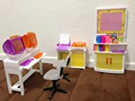 Barbie Size Dollhouse Furniture- Comp…
