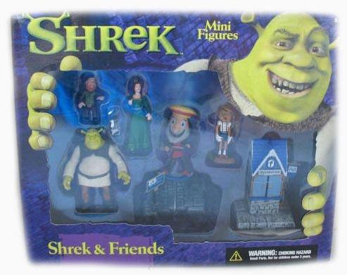 Picture of McFarlane Shrek & Friends Mini Figure Playset (B001GMJC1Y) (McFarlane Action Figures)