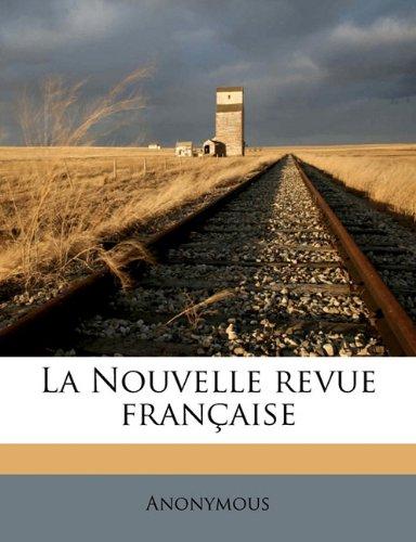 La Nouvelle revue français, Volume 1909, no.10