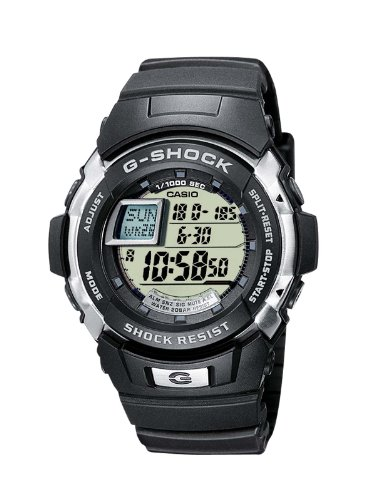 Casio G-7700-1ER Mens G-SHOCK Resin Digital Watch