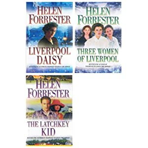 Helen Forrester: Liverpool 3 book collection: Liverpool Daisy, Three Women of Liverpool, The Latchkey Kid rrp £17.97