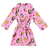 Disney Princess Pink Bathrobe for Girls