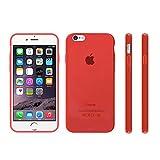 【 iphone6 4'7 対応 】 mtmd decolor tpuハードシリコン ケース 全9色 (レッド)