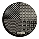 hehe Stainless Geometric Nail Image Stamp Stamping Plates Template (Color : #01)