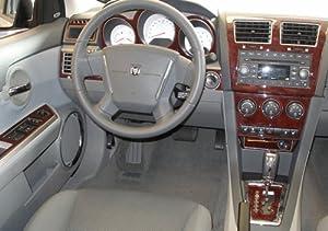 Dodge Caliber Interior Wood Dash Trim Kit Set 2007 2008 2009 Automotive
