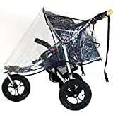 Universal BABY GOGO 3 Wheeler Raincover Will Fit Cosatto Mercury Lite,Venture, Britax Vigour (Forward Facing), Out N About Nipper -Single,Jane: Powertrack,Mountain Buggy (Urban),Mothercare: Glacie,Artic,Pinnacle,Vesten,Mamas & Papas: Mamu Mu3, 03 Sport S