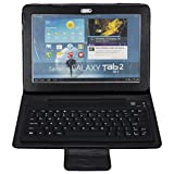 BATTOP Wireless Bluetooth Keyboard Case for Samsung Galaxy Tab 2 10.1 inch P7510/ P5100 - Galaxy Tab 2 P7510 /7500 Case With Bluetooth Keyboard