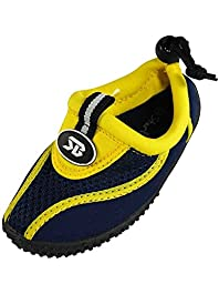 Starbay - Little Boys Athletic Water Shoe, Yellow, Navy 37845-9MUSToddler
