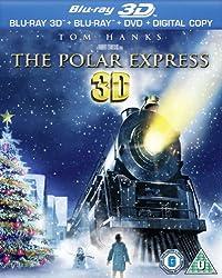 Polar Express 3D (Blu-ray 3D + Blu-ray + DVD + Digital Copy)[Region Free]