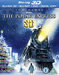 Polar Express 3D (Blu-ray 3D + Blu-ray + DVD + Digital Copy) [Region Free]