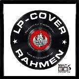 Empireposter - LP Plattencover Rahmen - Profil: 15mm Kunststoff schwarz - Größe