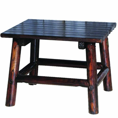Char-Log 24-Inch by 18-Inch High End Table image