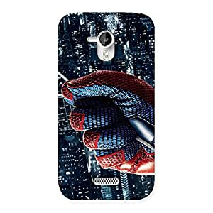 Rope Spider Back Case Cover for Micromax Canvas HD A116
