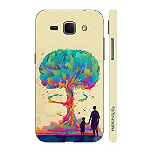 Enthopia Designer Hardshell Case Whats goes around is Evolution Back Cover for Samsung Galaxy Core Plus