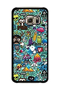 Caseque Azze Things Back Shell Case Cover for Samsung Galaxy S6 Edge