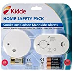 Kidde CO1SA6 CO and Smoke Alarm Twin Pack by Kidde