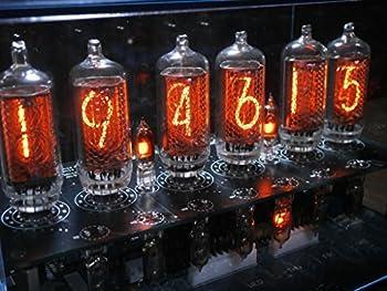 ニキシー管時計(曜日表示機能付き) IN-8-2