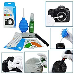 JJC CL-9 Nine-in-One Cleaning Kit For Lens and Cameras