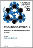 img - for Trends in Drug Research III (Pharmacochemistry Library) book / textbook / text book