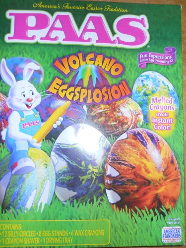 PAAS 39429 Volcano Eggsplosion Egg Decorating Kit - 1