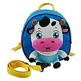 AUBIG Kids Childs Lovely Animal Cartoon Backpack Schoolbag for Boys Girls Multicolor