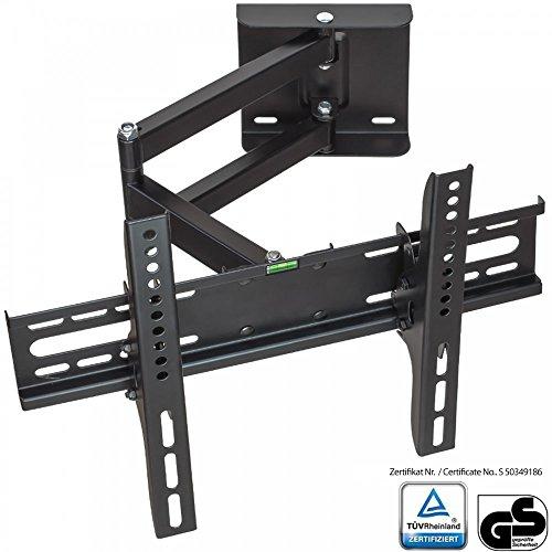 XOMAX--XM-WH104-TV-Wandhalterung-schwenkbar-neigbar-ausziehbar-TV-GS-geprft-Uniserval-Halterung-fr-Plasma-LCD-LED-TFT-Fernseher-fast-aller-TV-Hersteller-17-bis-42-Zoll-Bildschirmdiagonale-VESA-Standar