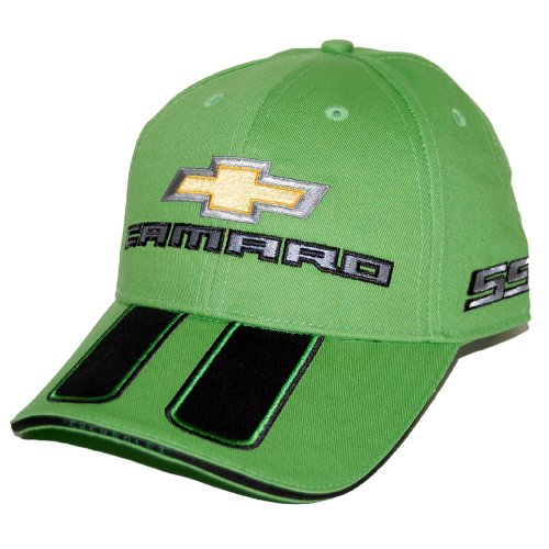 Chevrolet Camaro SS Synergy Green Rally Hat Cap (2010 Camaro Rally Stripes compare prices)
