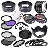 28 in 1 Super Kit 52mm Essential Lens Filter Set for Nikon D7100 D7000 D5200 D5100 D3200 D3100 D3000 D90 D4 D3X D800 D700 D600 D300S D300 D7100 D7000 D5200 D5100 D5000 D3200 D3100 D3000 D90 D80 D70 D60 D50 D40 LF131