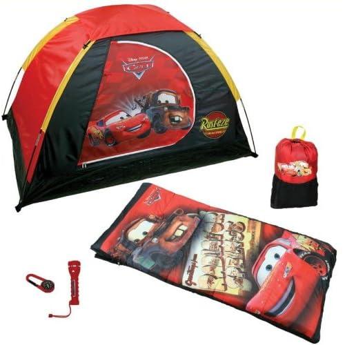 Amazon.com : Disney Pixar Cars 5 Piece Kids Camping Set : Tents