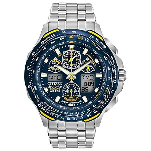 Citizen Men's JY0040-59L Eco-Drive Blue Angels Skyhawk A-T Watch
