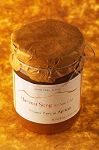 Harvest Song Gourmet 100% Natural Preserve Nasft Gold Winner 2006 Apricot Preserve, 18.9-Ounce Glass Jars (Pack of 3)