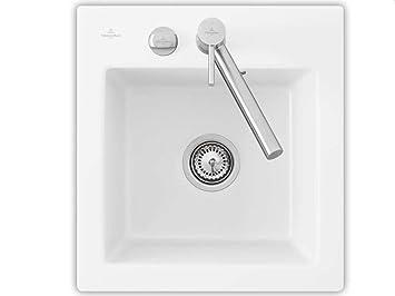 Villeroy & Boch Subway XS Flat Edelweiss White Inset Ceramic Sink