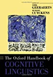 cover of The Oxford Handbook of Cognitive Linguistics