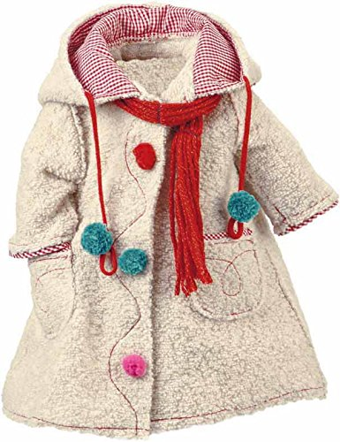 Kathe Kruse Doll Coat With Scarf, Grey