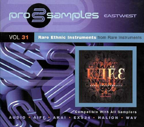 EastWest Prosamples Vol. 31 Rare Ethnic Instruments CD-ROM