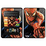 Diabloskinz Vinyl Adhesive Skin Decal Sticker for 8.9 inch Amazon Kindle Fire HD - Web Slinger