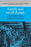 img - for Family and Social Change: The Household as a Process in an Industrializing Community (Cambridge Studies in Population, Economy and Society in Past Time) book / textbook / text book