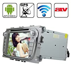 See Rungrace 7.0 inch Android 4.2 Multi-Touch Capacitive Screen In-Dash Car DVD Player for Ford Focus with WiFi / GPS / RDS / IPOD / Bluetooth /ATV Details