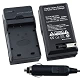 eForCity Battery Charger Compatible with Nikon Coolpix S50 c S51 c S52 S52c