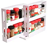 Unique Gadget Swivel Store Smart Storage Spices, Medication & More for Swivel Shelf Organizer