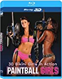 3D Bikini Girls in Action Paintball Girls [Blu-ray 3D]
