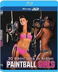 3D Bikini Girls in Action Paintball Girls [Blu-ray 3D]