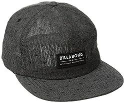 Billabong Men's Rider Adjustable Hat, Black, One Size